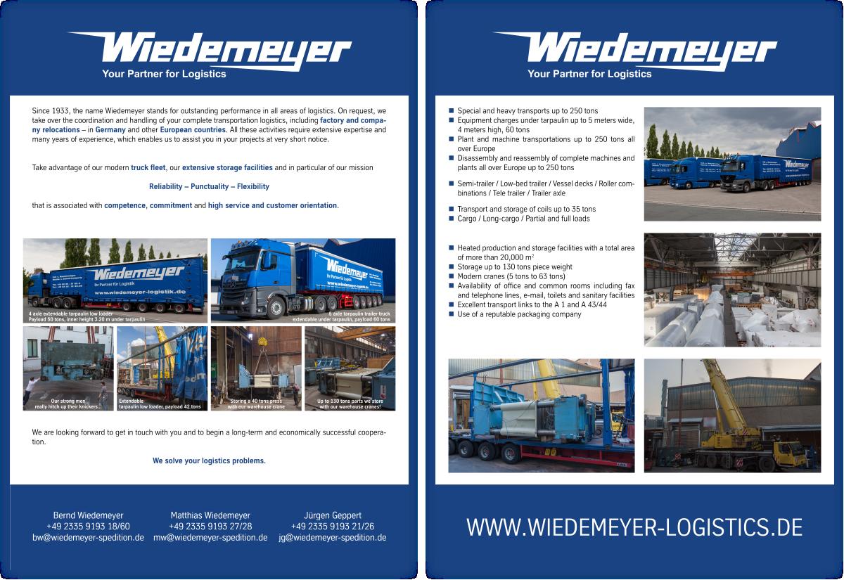 WIEDEMEYER - Services